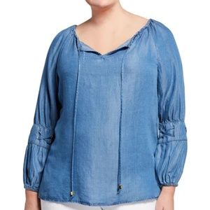 MICHAEL KORS DENIM SHIRT